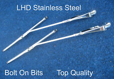 Stainless Steel Wiper Arm Blade Set Mini Cooper Quality LHD