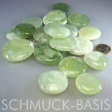 China Jade Scheibensteine / Taschensteine ca. 400 Gramm, TOP Handschmeichler !!!