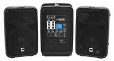 Omnitronic Combo-160BT Aktiv-PA-System 160W Portabel 6-Kanal Mixer Bluetooth DJ