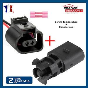 Prise Fiche Connecteur + Capteur de Temperature Exterieure SEAT VW = 1J0919379A