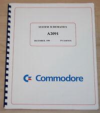 Commodore Amiga System Schematics A 2091