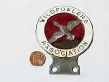 VINTAGE 1960s WILDFOWLERS ASSOCIATION CAR BAR BADGE - WAGBI/BASC SHOOTING EMBLEM
