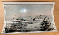 HONDA POINT DISASTER Destroyers U.S. Navy Warships WRECKED Photograph