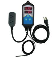 Aquarium Hatching 110V Digital Temperature Controller Sensor Thermometer FCC New