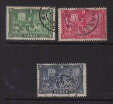 stamps  Norway  SC#96-98 set
