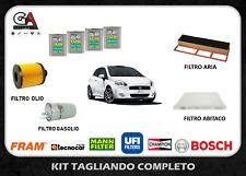 Kit tagliando Grande Punto 1.3 multijet Fiat 90 cv 66 kw dal 2005 + Selenia 5W40