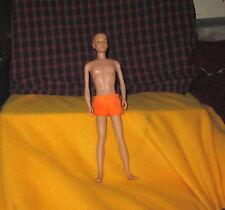 Vintage 1961 KEN Barbie Doll With Original Swim Trunks Matell Made In Hong Kong