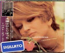 """MINA """" BEST OF...(L'ECLISSE TWIST) """" CD SIGILLATO 1995 KING RECORD JAPAN"""