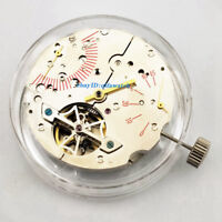 P731 Parnis Seagull 2505 Automatic Power Reserve Date Movement Kit Men's Watch