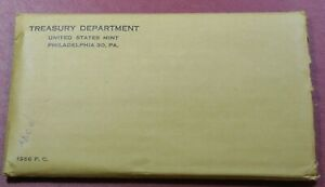 1956 90% SILVER US Mint PROOF Set  * 5 PC - Combined Shipping - CAMEO?