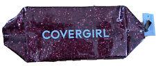 Covergirl Glitter Cosmetic Bag-Pink, NWT