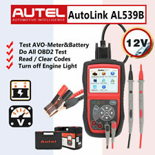 Autel AL539B Auto OBD2 Code Reader Battery Circuit Charging System Test Scanner