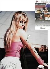 BRITNEY SPEARS signed autographed 8x10 JSA certified