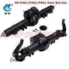 1/10 RC HG P401/P402/P601 Crawler Truck Axle Front + Rear Gear Box Set HG-BX02
