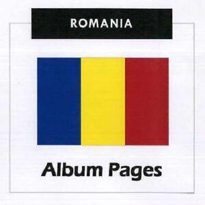 Romania - CD-Rom Stamp Album 1858-2017 Album Pages Classic Stamps Illustrated