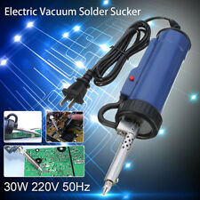30W 220V 50Hz Electric Vacuum Solder Sucker /Desoldering Pump / Tool Repair