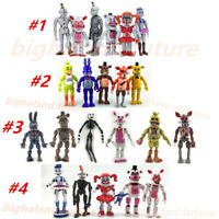 5PCS/6PCS Lot Five Nights at Freddy's/ Sister Location Action Figures FNAF Toys