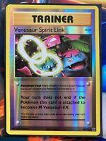 Pokemon Card  VENUSAUR SPIRIT LINK  REVERSE HOLO  EVOLUTIONS  89/108 *MINT*