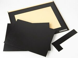 Rare Saunders Special Border Salon 11x14 Single Size Darkroom Easel