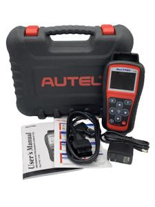 AUTEL MAXITPMS TS508 TPMS WIFI DIAGNOSTIC & SERVICE TOOL W/CASE AND OBDII CORD