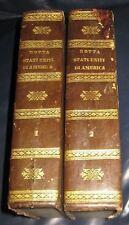 1827 Carlo Botta, Storia della Guerra di Indipendenza degli Stati Uniti. Mappe