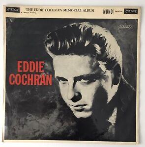 THE EDDIE COCHRAN MEMORIAL ALBUM - 1961 - London *plum* mono HAG 2267 - *VG/VG*
