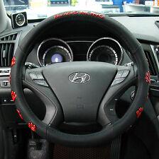 Gauss Premium Steering Wheel Cover - BLING BLING Bear Paw Pattern / 37 cm