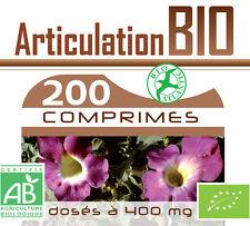 Harpagophytum - Reine des prés - Prele  200 comprimés 400 mg - BIO