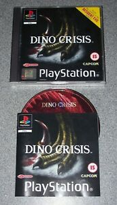 Ps1 Game - Dino Crisis + Instruction Manual - 15+ - Good Condition