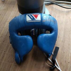 Winning head gear FG-2900 Blue boxing Head protection Martial arts supplies