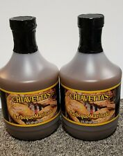 2 Bottles of Buffalo's Own Chiavetta's Barbecue Marinade 32 Oz