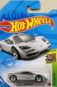 Hot Wheels McLaren F1 Grey 2021 New Release P Box Case