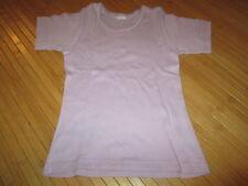 Maillot de corps/Tee-shirt Mauve,MC,T6/8ans,marque Envog,en TBE