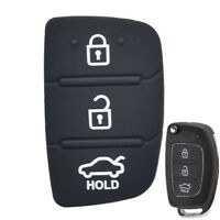 For Hyundai Creta I20 I40 ix35 ix45 Tucson Car Key Pad Rubber Repair Car Key Fob