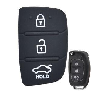 Car Key Pad Rubber Repair Car Key Fob For Hyundai Creta I20 I40 ix35 ix45 Tucson