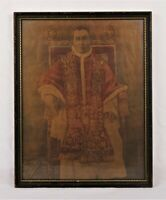 Antique Roman Catholic Pope Benedict XV Religious Print