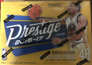 2016-17 Panini Prestige Basketball Factory Sealed Blaster Box-EXCLUSIVE ACETATE!