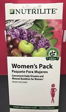 Amway Nutrilite women's pack (30 Packets) #105481  EXP 01/2019