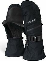 Rugged Waterproof Winter Mittens | Extra Long Gauntlets | Snowboard, Ski, Ice