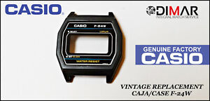 Vintage Ersatz Gehäuse / Packung Casio, F-24W NOS