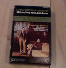 A Simple Matter of Conviction - Evans, Manne, Gomez - Cassette RARE - JAPAN