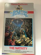 THE GREATEST ADVENTURE STORIES FROM THE BIBLE THE NATIVITY VHS TAPE- COLLECTIBLE
