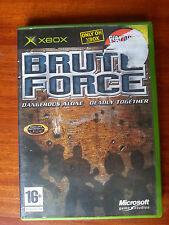BRUTE FORCE MICROSOFT XBOX PAL game gioco console ORIGINAL COMPLETO ITA