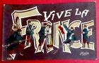 CPA. VIVE LA FRANCE. Illustrateur M.Boulanger. Guerre 1914-1918. Militaires.
