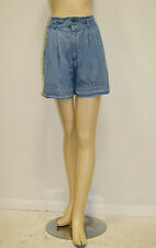 Vintage 1980's 90's High Waist Denim Shorts by Ruff Hewn Size Small
