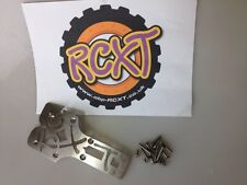 hpi Baja 5B Large Scale Front RCXT Logo Stiffner Chassis Bash Plate (XTLOGO1SS)