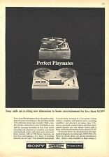 1964 Sony Superscope Reel to Reel Model 250 PRINT AD