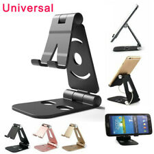 Cell Phone Tablet Desk Stand Aluminum Table Holder Cradle Dock for iPhone iPad