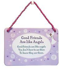Hang-Ups placas-Buenos amigos son como ángeles (heartwarmer)