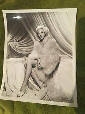 "Lana Turner - Vintage Portrait - 8""X10"" with MGM studio stamp"